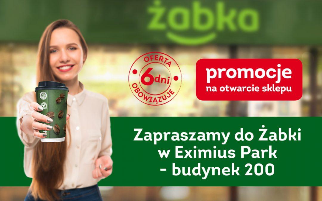 Żabka in Eximius Park – 31.05.2019 12:00