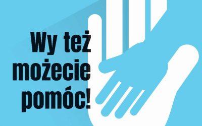 Ogłaszamy akcję specjalną! 6 grudnia zbiórka dla Kacpra