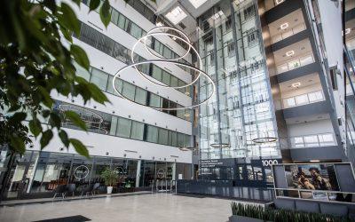 Kończymy modernizację lobby budynku 1000. Zobaczcie jakie zmiany ..