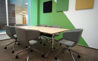 Eximius Space: przykład nowoczesnego designu wprzestrzeni biurowej