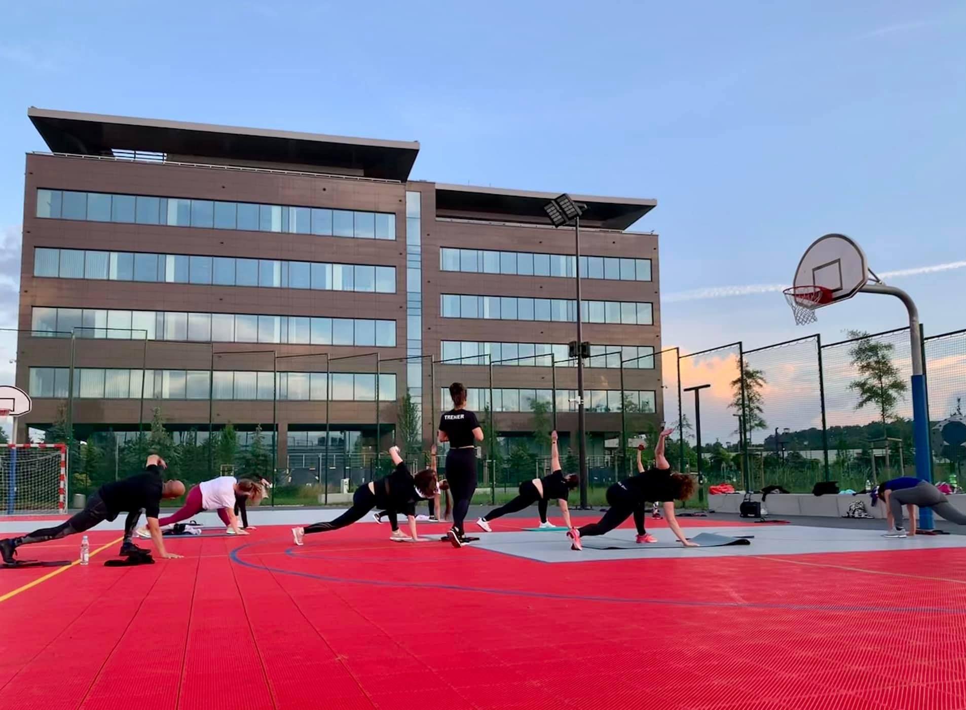 Treningi w Strefie Rekreacji Eximius Park