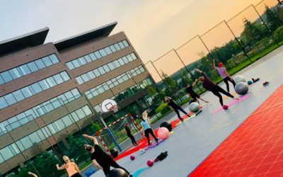 Manufaktura Zdrowia invites you to outdoor trainings in the Sports and Recreation Zone