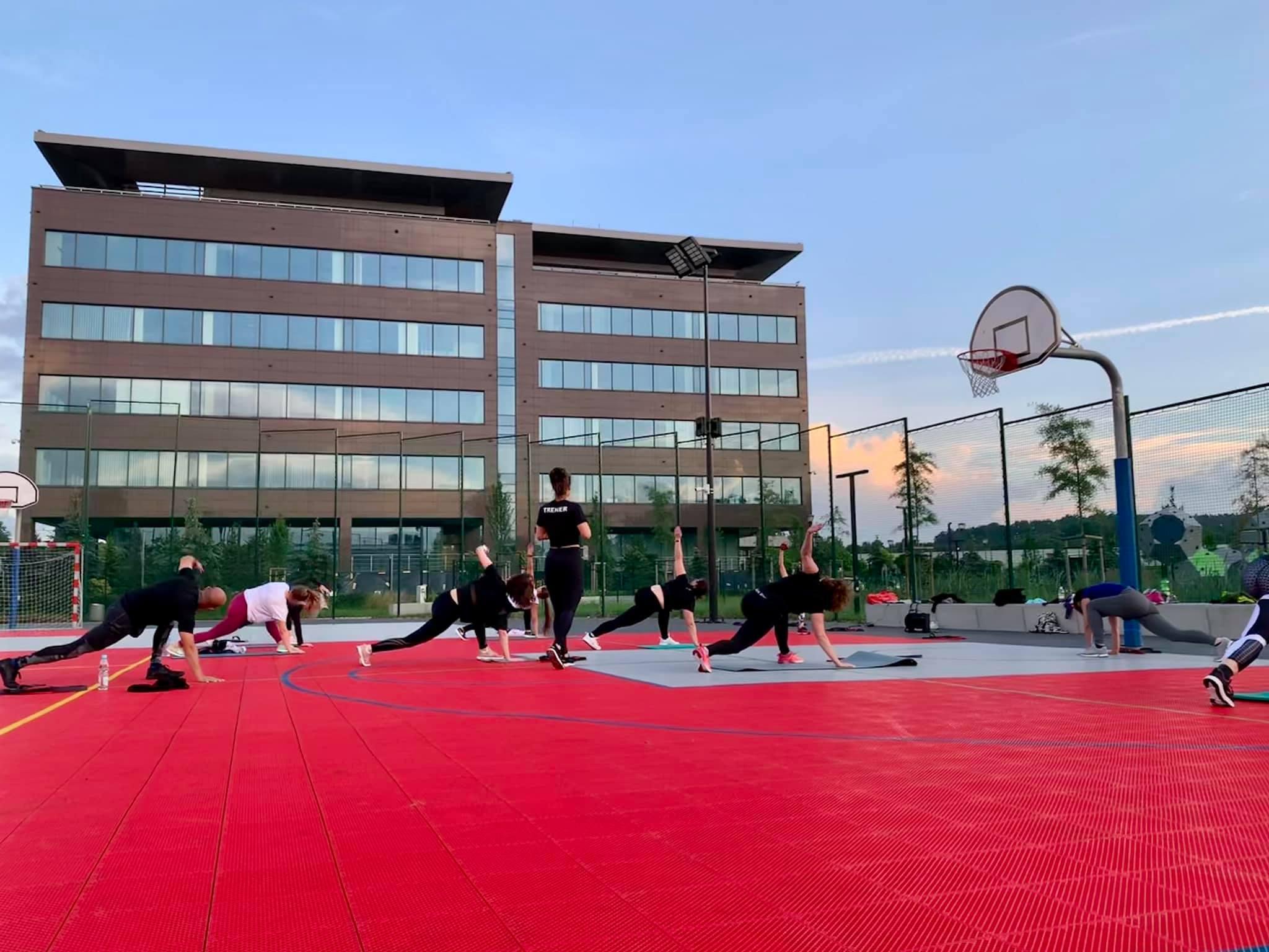 treningi outdoor