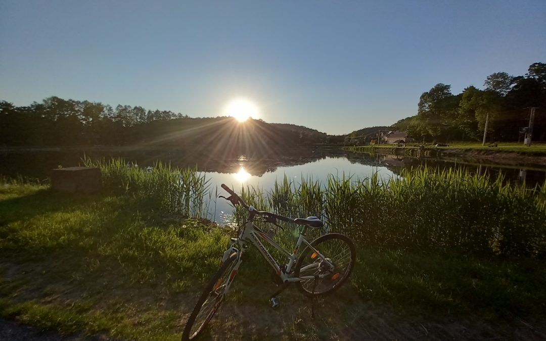 Bike trip around the Eximius Prk