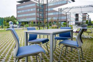 Outdoor Office w Strefie Sportu i Rekreacji Eximius Park