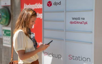 DPD Pickup Station parcel vending machines available in Eximius Park.